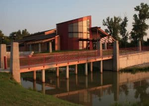 Remington Nature Center, St. Joseph, Missouri, design by PWArchitects, Inc.