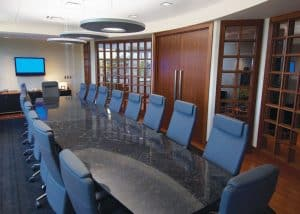 Williams-Keepers Office Boardroom.