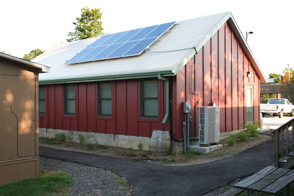 Eco Schoolhouse, designed by PWArchitects, Inc.
