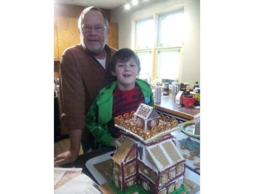 Architectural Graham Cracker House