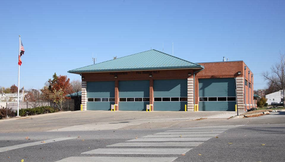 Renovations for the Columbia Fire Department included a renovation of Columbia Fire Station 1.