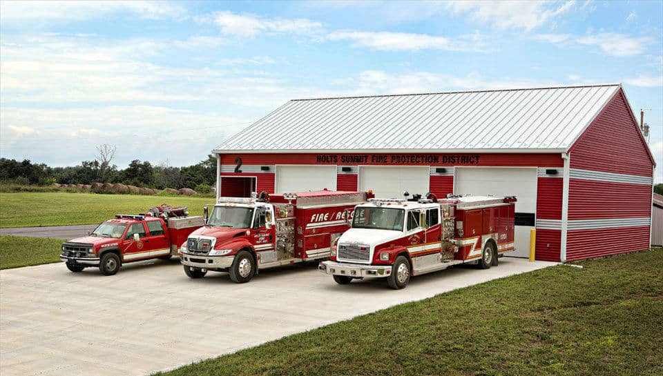 Holts Summit Fire Protection District Auxiliary Station No.