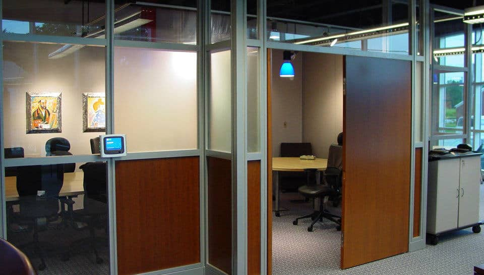 The Interior of Marathon Office Environments includes 8,000 sq. ft. of showroom space.