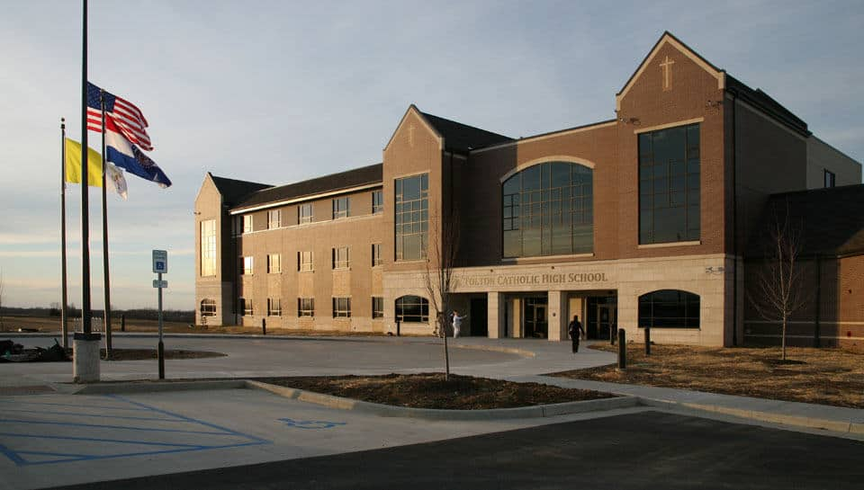 The Fr. Tolton Catholic High School celebrated its grand opening in November of 2011.