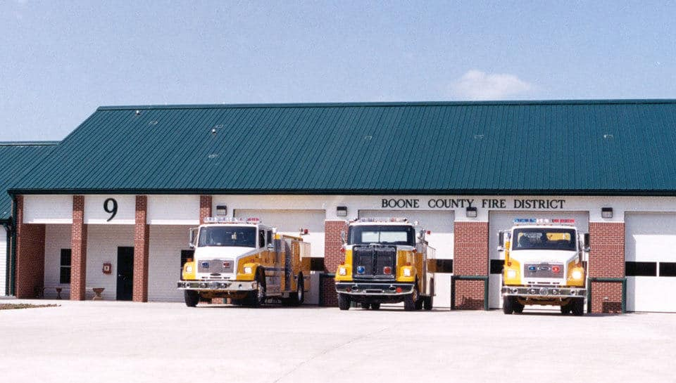 Fire Station 9 at Midway, Missouri.