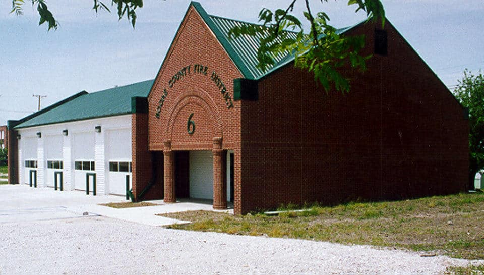 Fire Station 6 is one of many fire stations completed for the Boone County Fire Protection District.