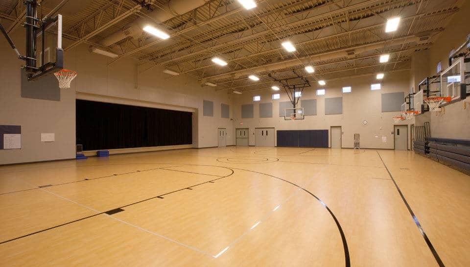Gymnasium at Battle Elementary School.