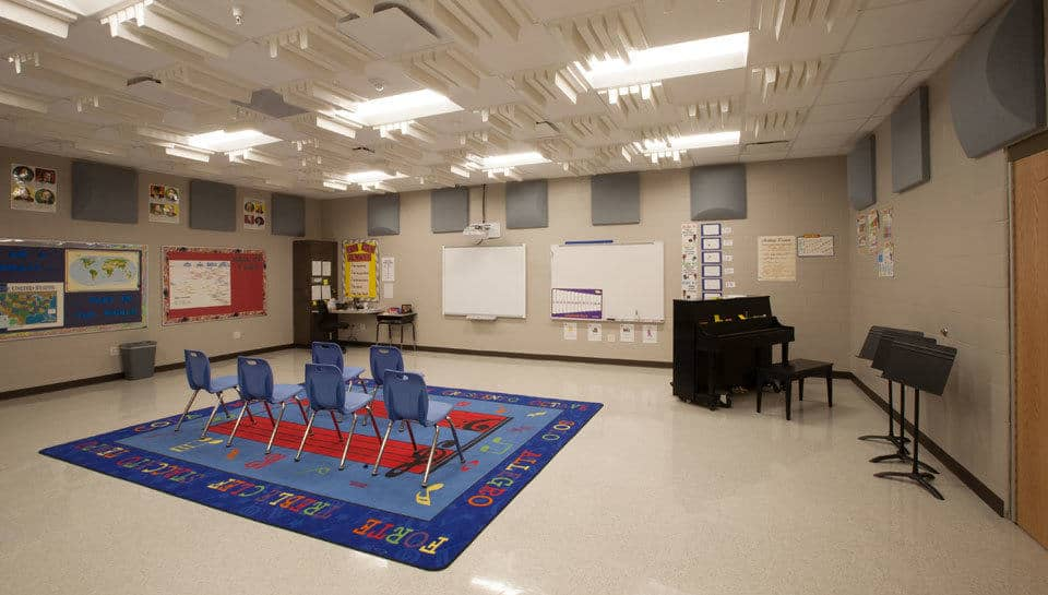 Battle Elementary School Music Room