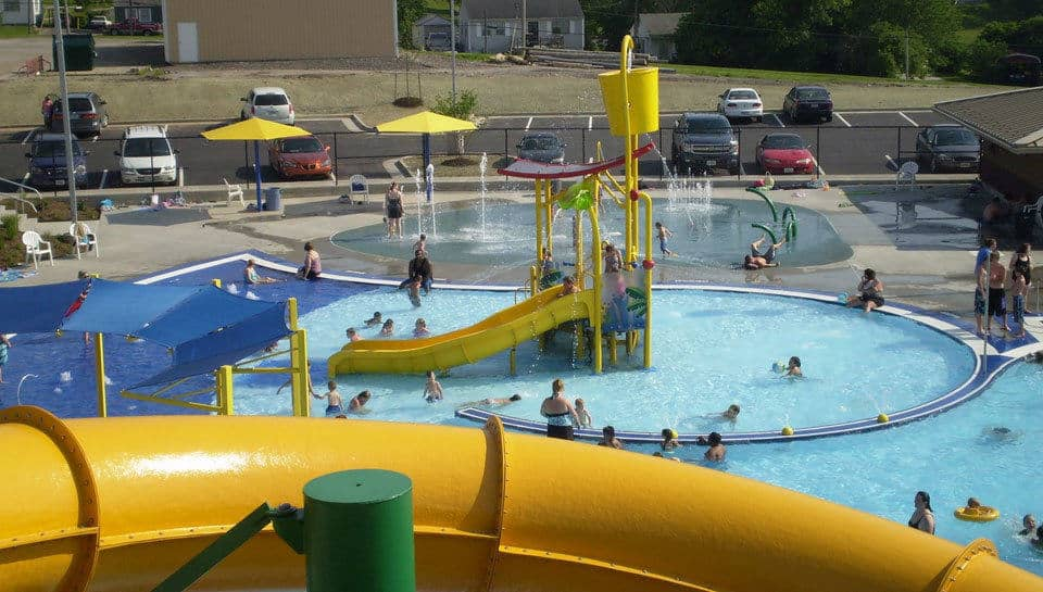 Boonville Lions Park Aquatic Center.
