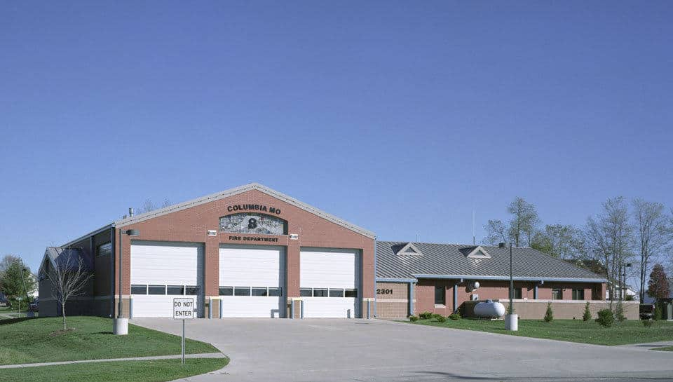 A prototype station that meets the current and future needs of the community, Fire Station 8 anchors the southeast region of the City of Columbia.