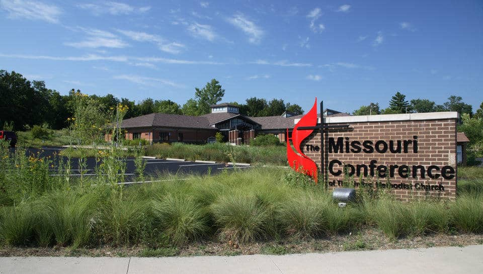Missouri Conference Office of the United Methodist Church landscape design.