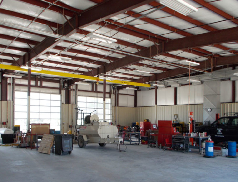 Parks & Recreation Vehicle Maintenance Facility
