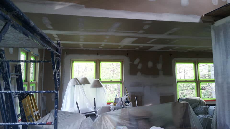 Renovation: Living with the mess.
