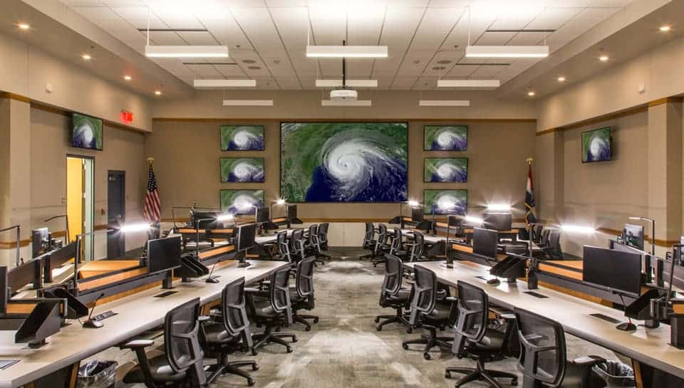 Boone County Emergency Operations Center Command Center.