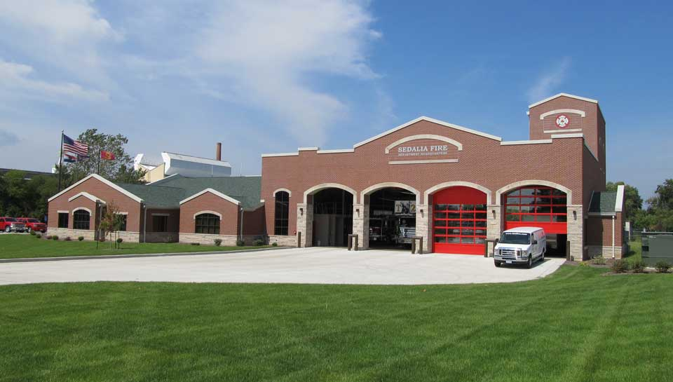 City of Sedalia Fire Headquarters