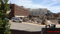 Demolition at Lafferre Hall 2015-07-20