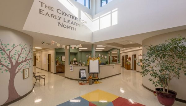 The Center for Early Learning North Atrium