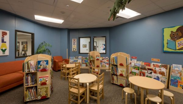 The Center for Early Learning North Library