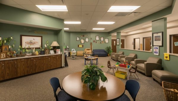 The Center for Early Learning North Waiting Room