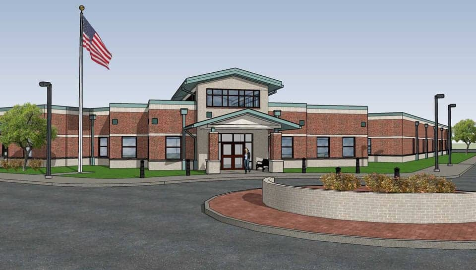 Columbia Public Schools The Center for Early Learning North Rendering