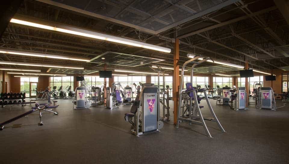 Fitness Center in Malcolm Center for Student Life at Missouri Valley College, Marshall, Missouri.