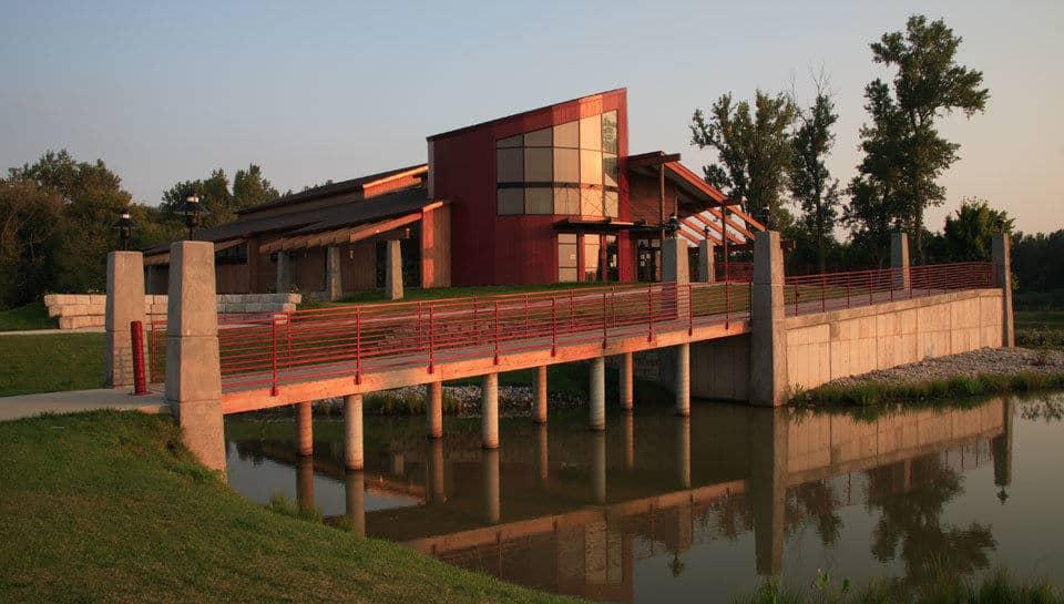 Remington Nature Center, St. Joseph, Missouri, design by PWArchitects, Inc.