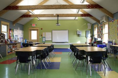 Eco Schoolhouse designed by PWArchitects, Inc.