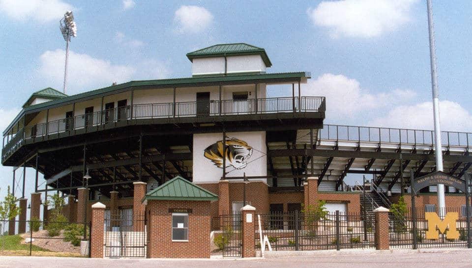 Taylor/Phi Delta Theta Baseball Stadium at the University of Missouri-Columbia.