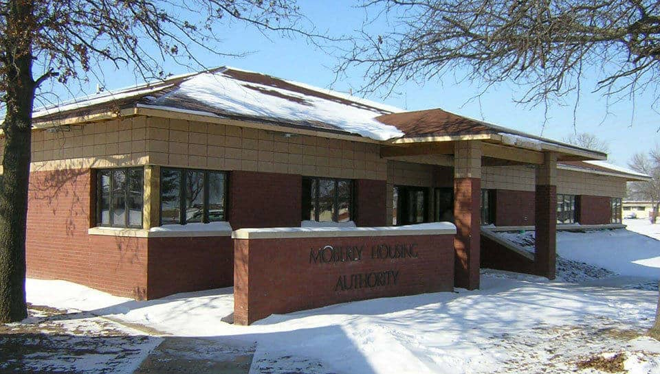 The Moberly Housing Authority Community Center includes many sustainable design practices including operable windows and energy-efficient HVAC and lighting systems.