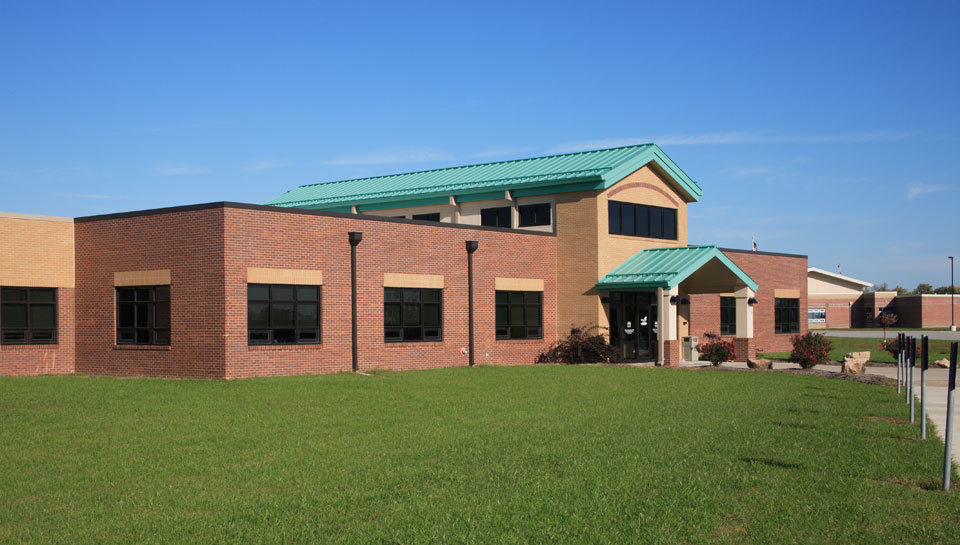 """""""Green"""" concepts are incorporated into several areas of the 3rd and 4th grade building at Southern Boone County R-1 Schools in Ashland, Missouri."""