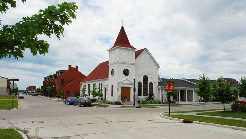 PWA worked with Whittaker Builders on the construction of the St. Charles Christian Church in Saint Charles, Missouri.