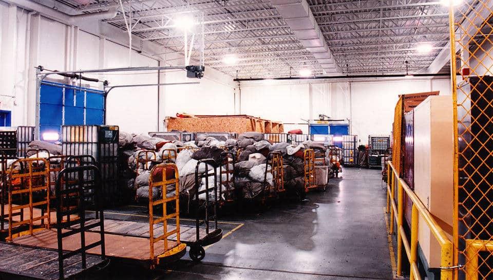 USPS facility in Columbia, Missouri.