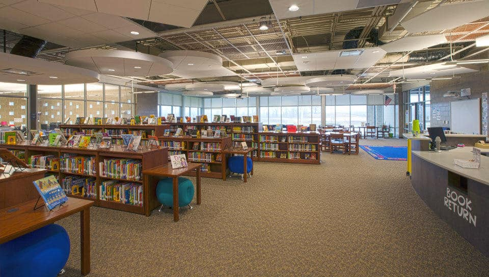 Battle Elementary School Media Center