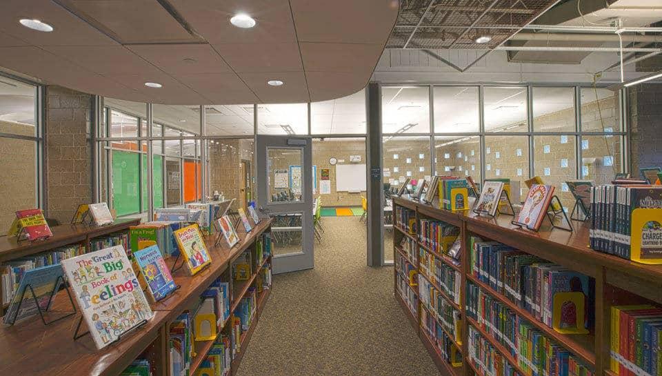 Battle Elementary School Media Center