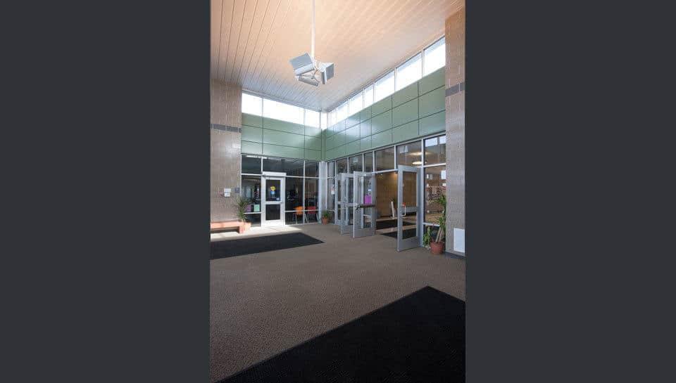 Entryway of Battle Elementary School.