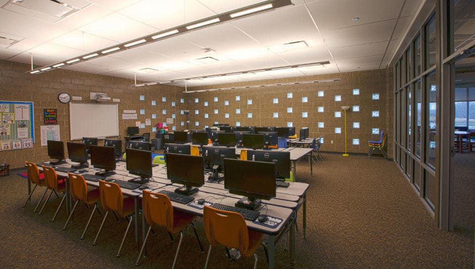 Battle Elementary School Computer Lab