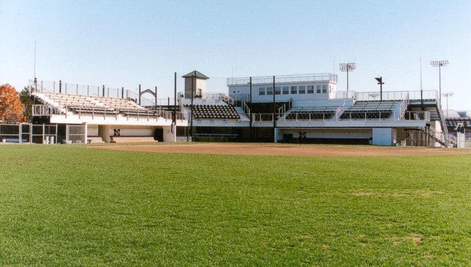 The University of Missouri softball stadium.