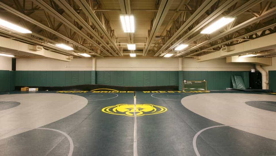 Rock Bridge High School Gym Wrestling Facility.