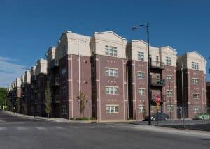 Brookside East Locust Apartment Complex in downtown Columbia, Missouri.