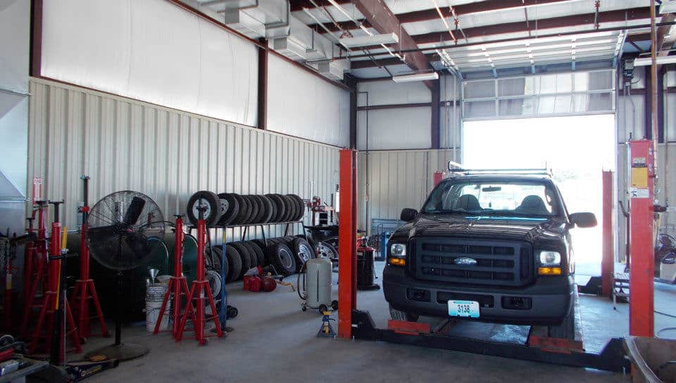 Columbia Parks and Recreation Vehicle Maintenance Facility.