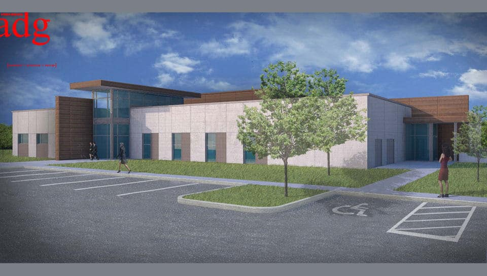 Rendering: Boone County Emergency Operations Center.