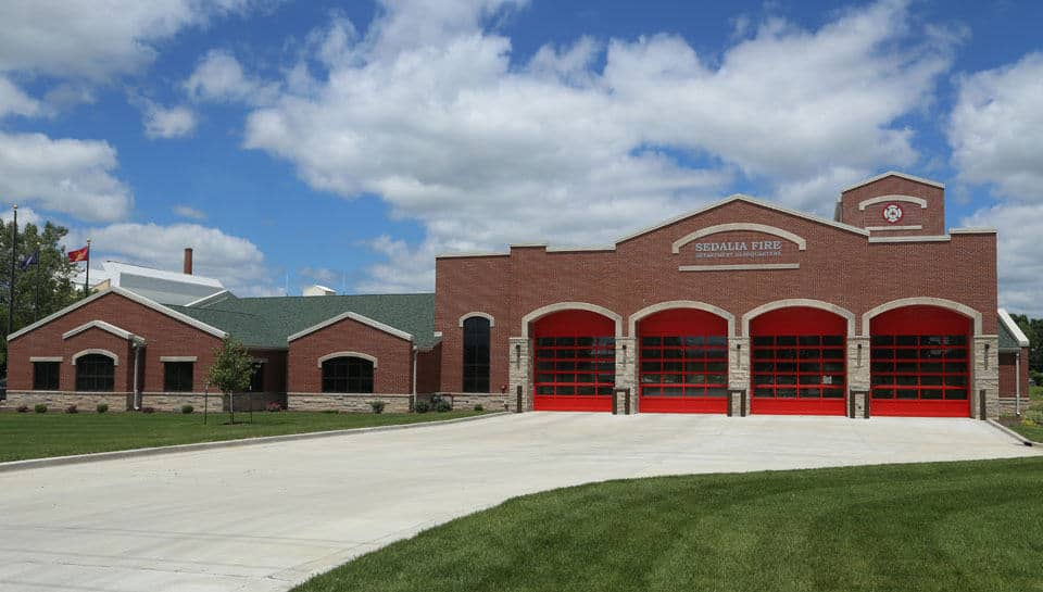 Sedalia Fire Department Headquarters, photo courtesy of City of Sedalia.