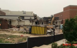 Demolition at Lafferre Hall 2015-06-30