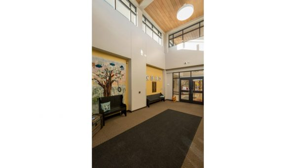 The Center for Early Learning North Entryway