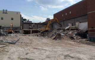 Demolition at Lafferre Hall 2015-09