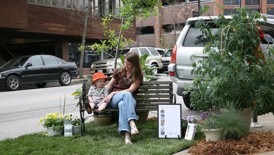 We will miss the many visitors who enjoyed PWA's Green space, which was temporarily installed outside the downtown office in observance of Earth Day.