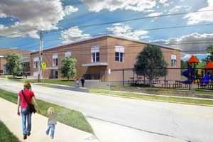 Grant Elementary Addition, Columbia, Missouri.
