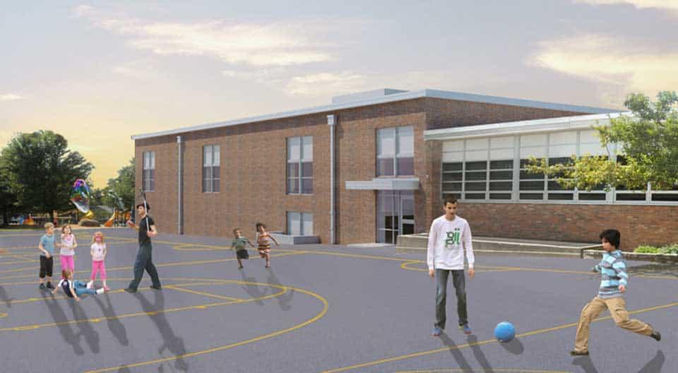 Grant Elementary Addition, Columbia, Missouri.