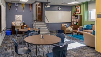 Douglass High School Student Center.