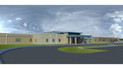 Rendering of Cedar Ridge Elementary, Columbia Public Schools, Columbia, Missouri.